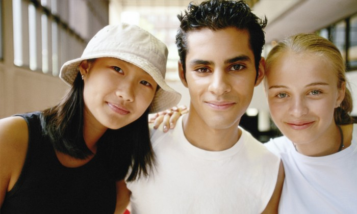 friends groups People Asians Teens Female Teens Male
