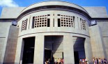 Entrance to the Holocaust Memorial Museum