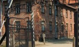 Entrance to Auschwitz concentration camp