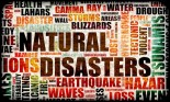 Colage of natural disasters