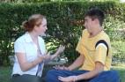 teens arguing