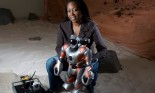 Professor Dr. Ayanna Howard, Roboticist, is pictured in her robotics lab at Georgia Tech, in Atlanta, Oct. 2, 2009.