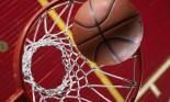 basketball over hoop