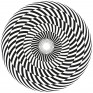 Spiral design pattern for hypnosis and sensory perception
