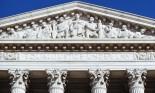 Pedimental frieze on the Supreme Courthouse