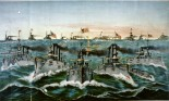 Great White Fleet of ships in Spanish American war