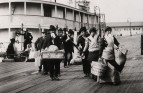Emigrants landing at Ellis Island, New York