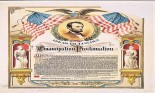 Emancipation Proclamation poster