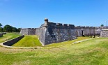 Castillo de San Marcos, ancient fort in St. Augustine, Florida