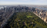 Aerial view of Central Park, New York City, New York, USA