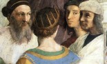 Detail from Raphael's The School of Athens