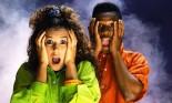 Shocked teenagers
