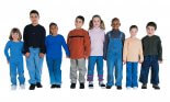 a group of children of various ethnic backgrounds