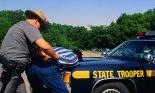 State Trooper Arresting Suspect