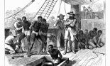 People taken captive by slave traders