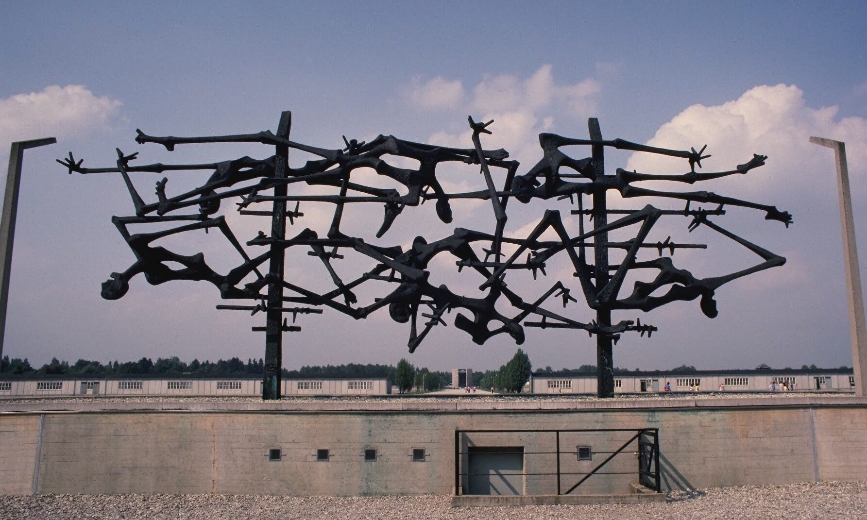 International Memorial by Nandor Gild, Dachau Concentration Camp