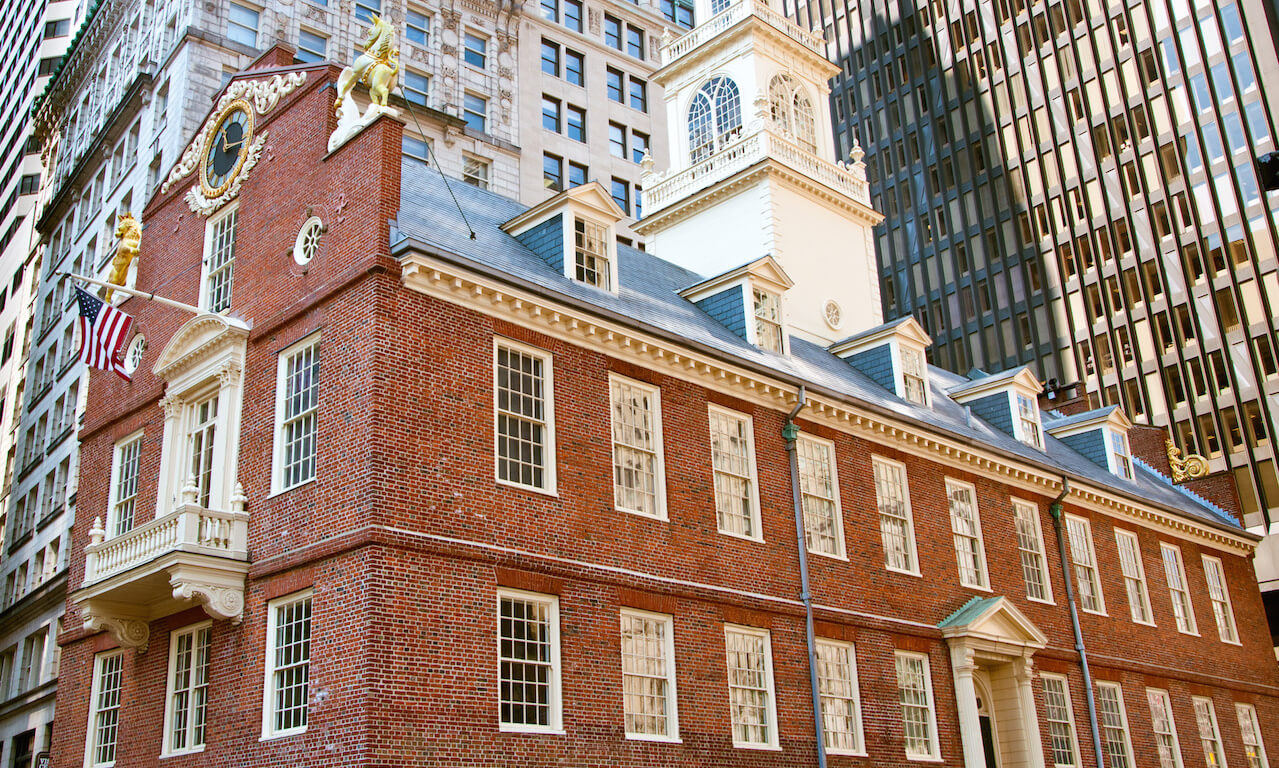 The Old State House on Boston's Freedom Trail