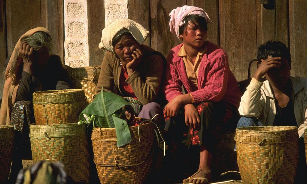 Street Vendors in Myanmar