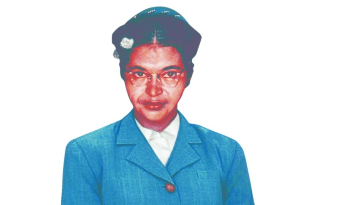Portrait of Civil Rights leader Rosa Parks