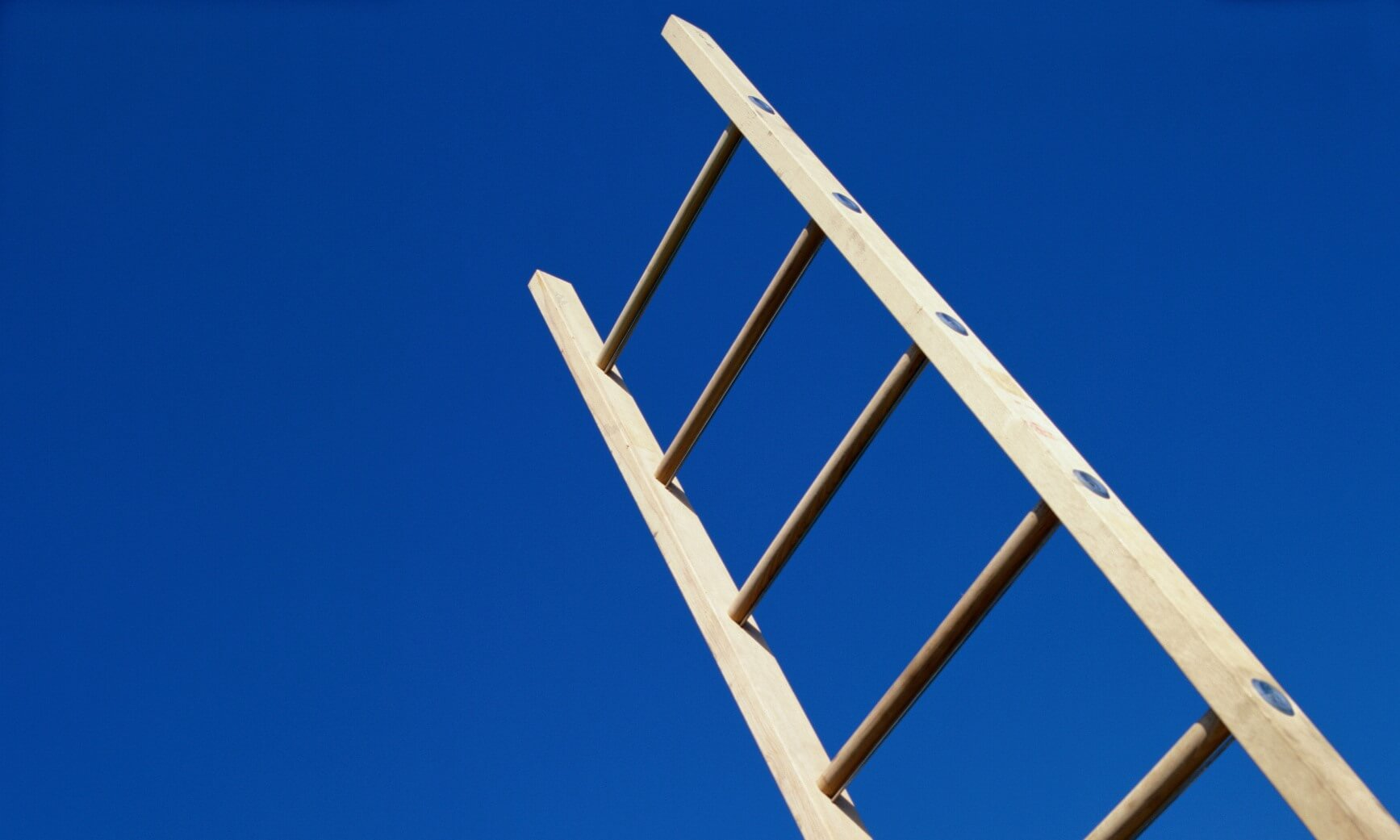 Ladder from Below