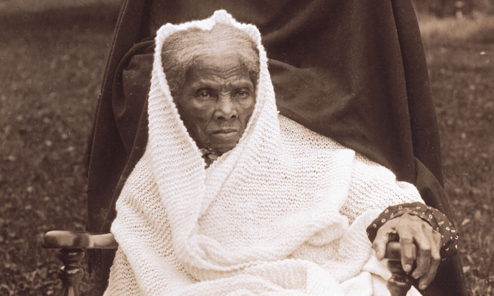 Portrait of Harriet Tubman in old age