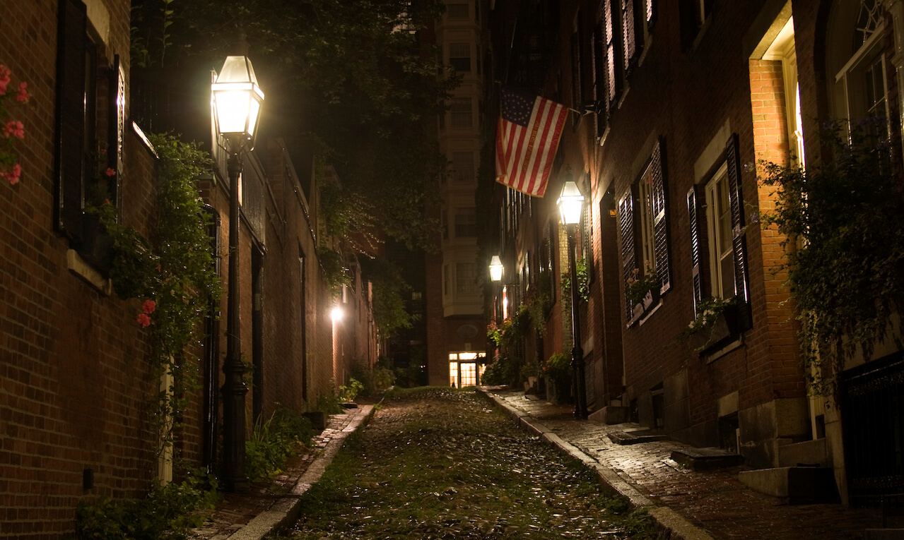 Beacon Hill neighborhood of Boston