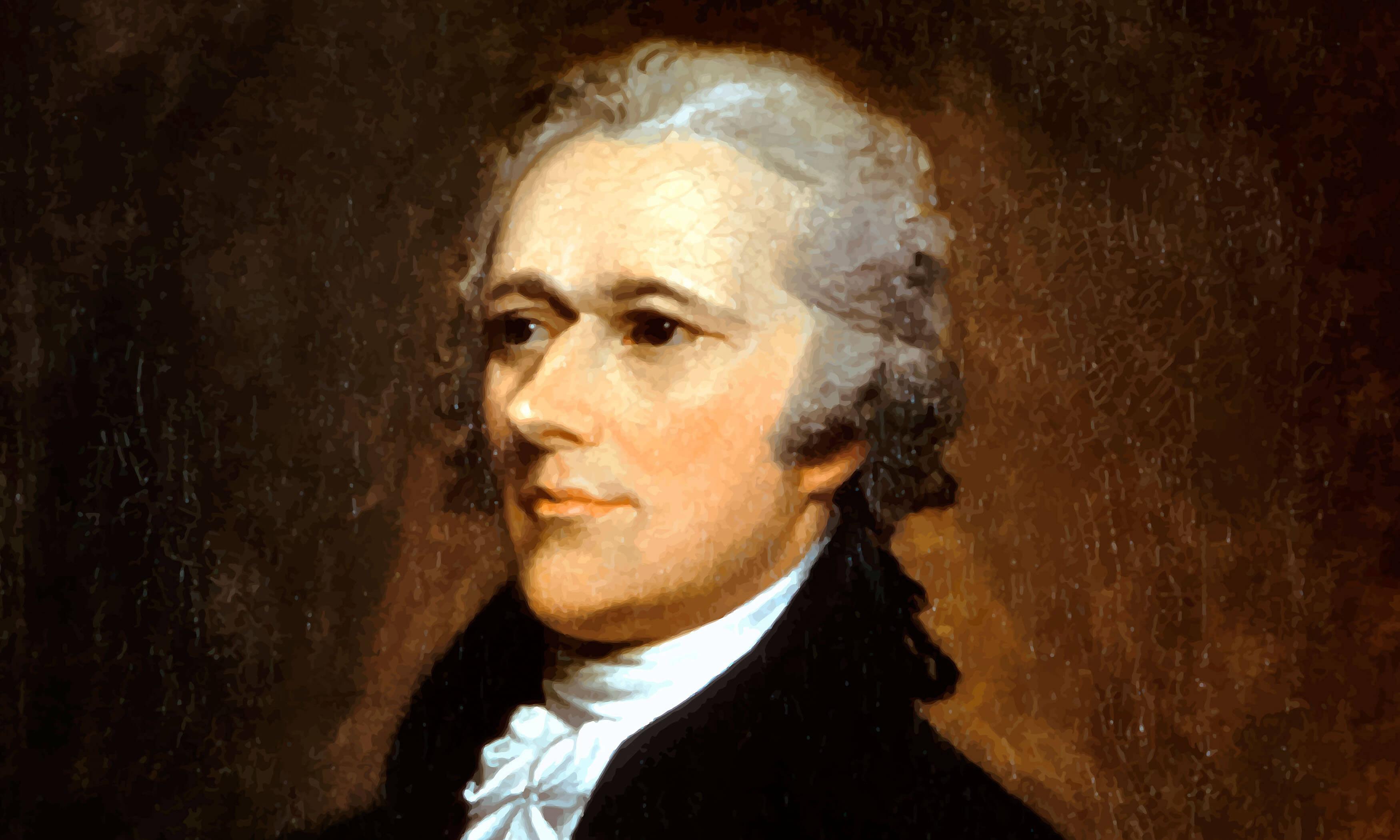 Painting of Alexander Hamilton