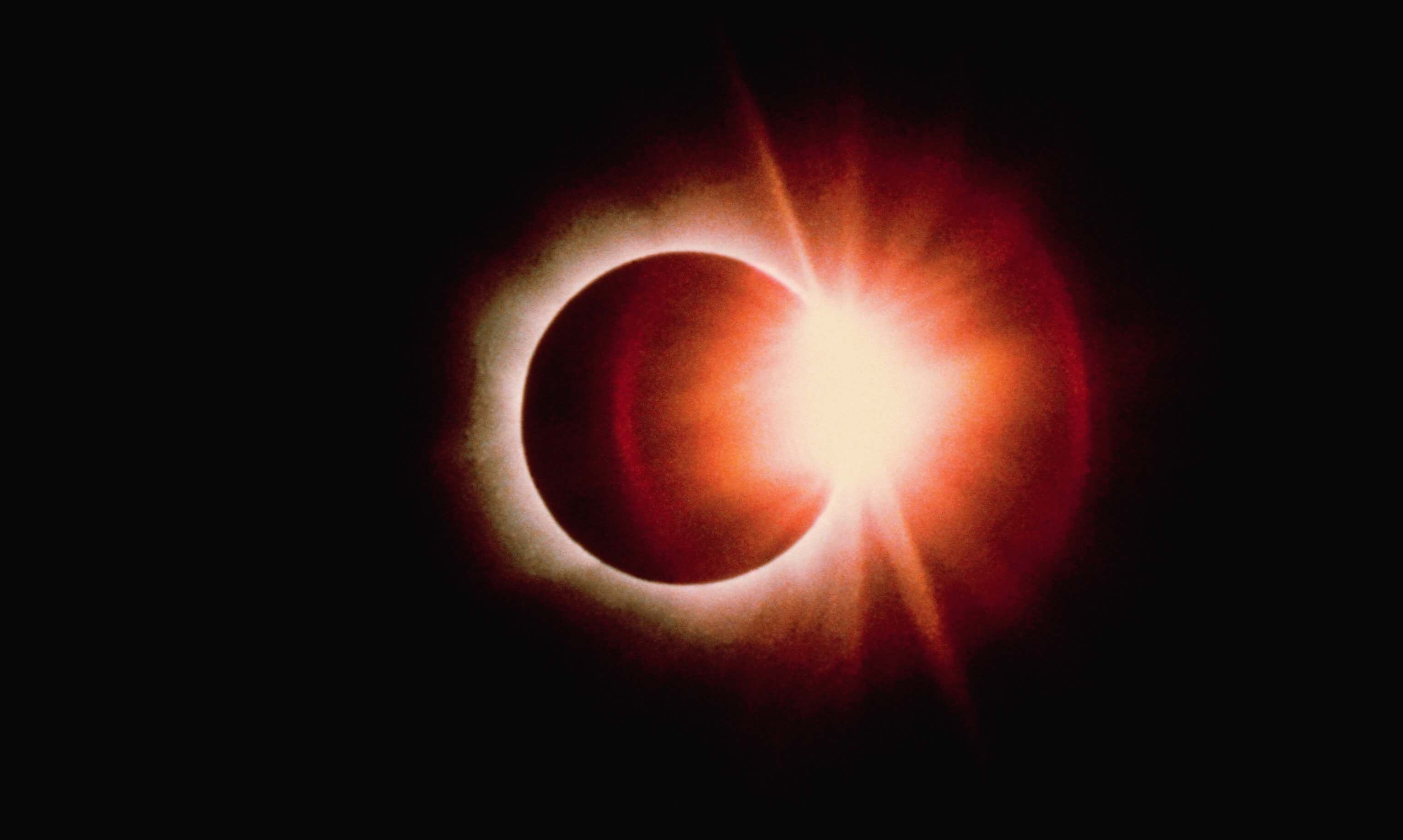 Diamond Ring Effect During Solar Eclipse