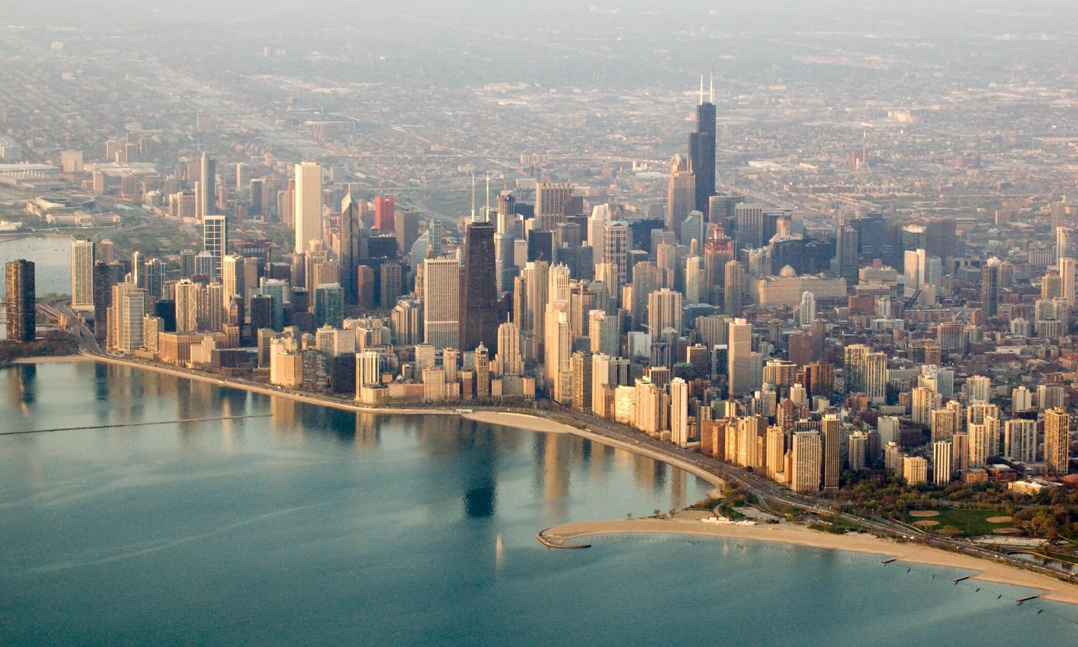Skyline of Chicago, Illinois