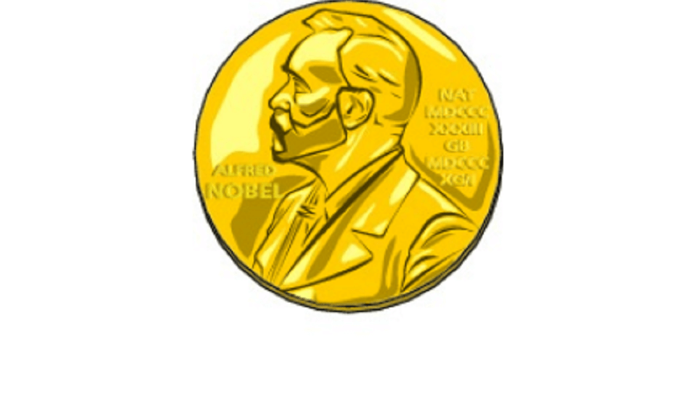 Illustration of Nobel Prize medal