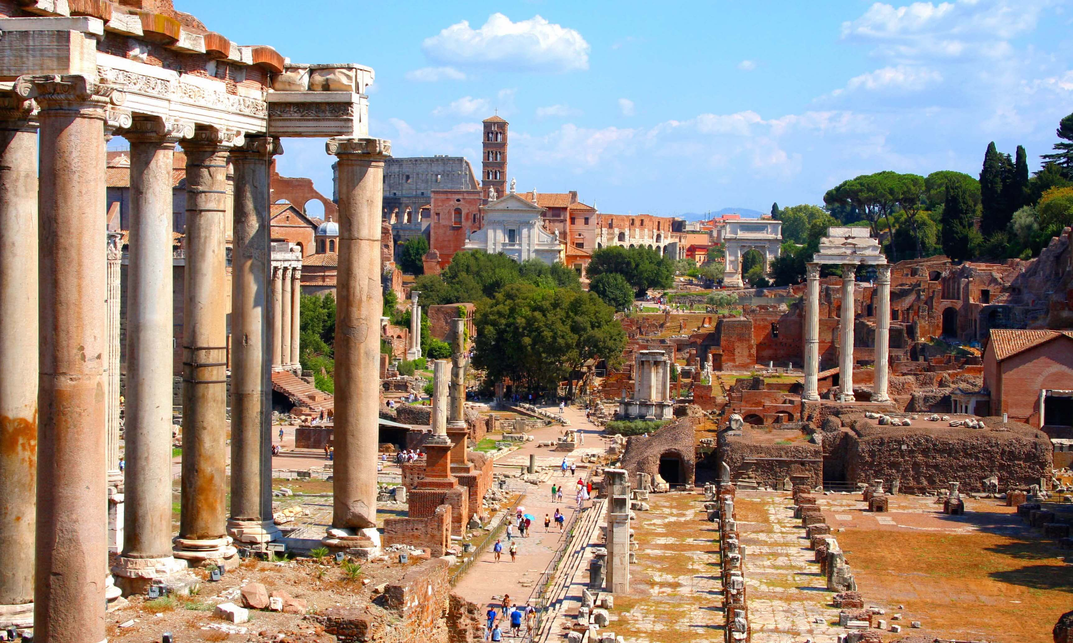 Roman Forum, Rome, Italy, September 2007
