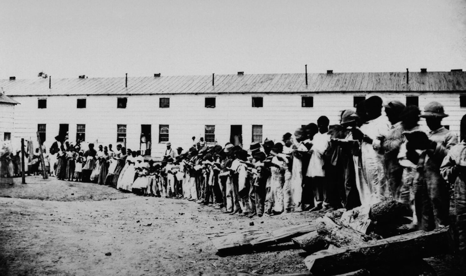 Former Slaves at Freedmen's Village