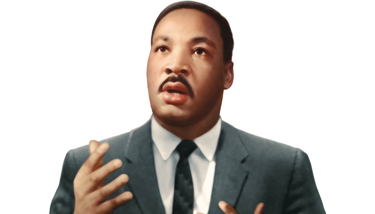 Martin Luther King, Jr. speaking