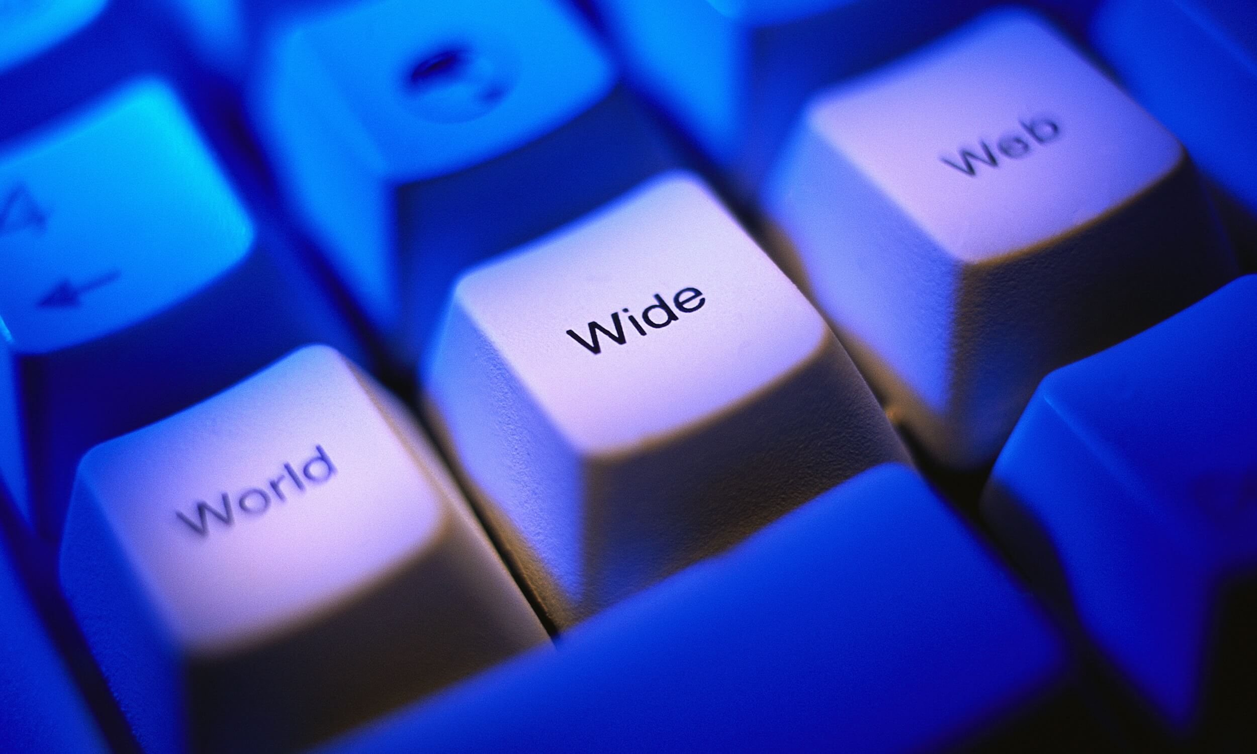 World Wide Web Computer Keys
