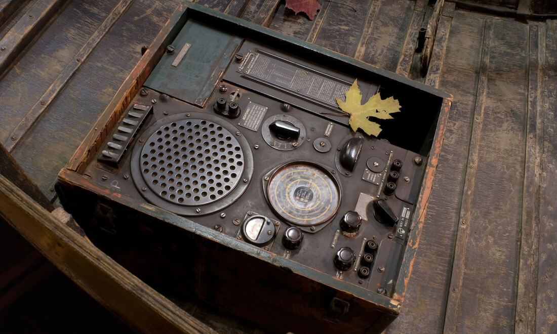 Antique WWII Radio