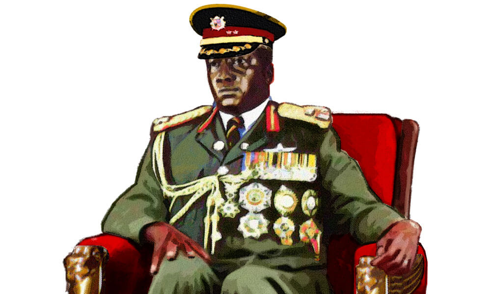 Illustration of a dictator
