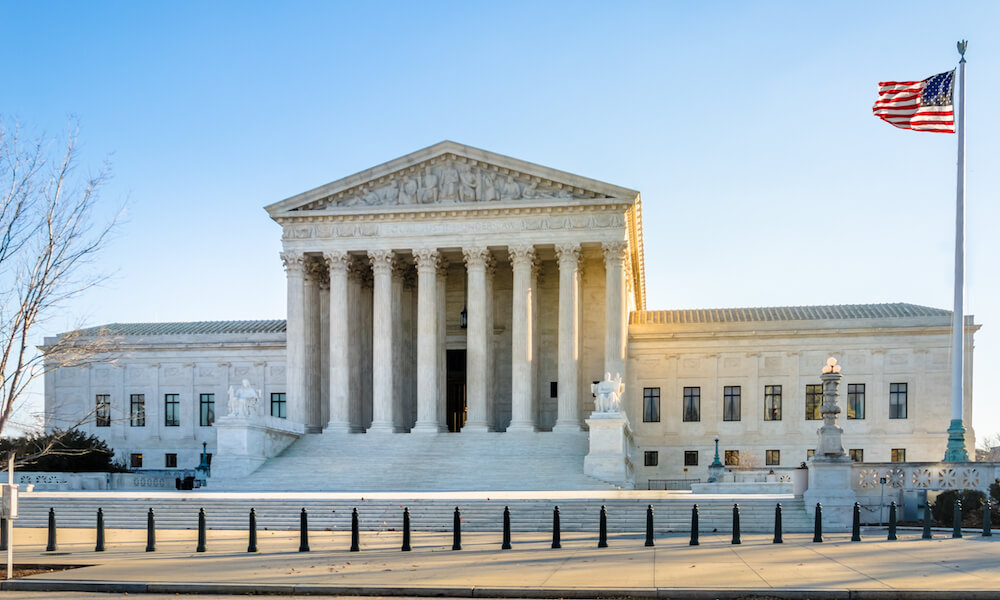 The United States Supreme Court building - Washington, D.C., USA