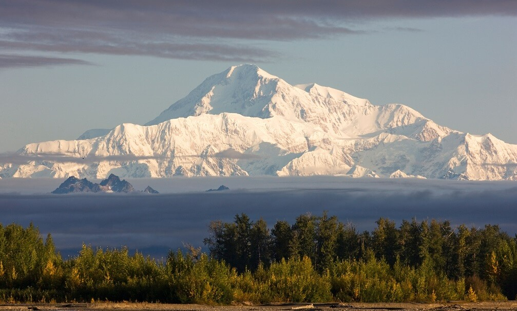 Denali, the highest peak in North America