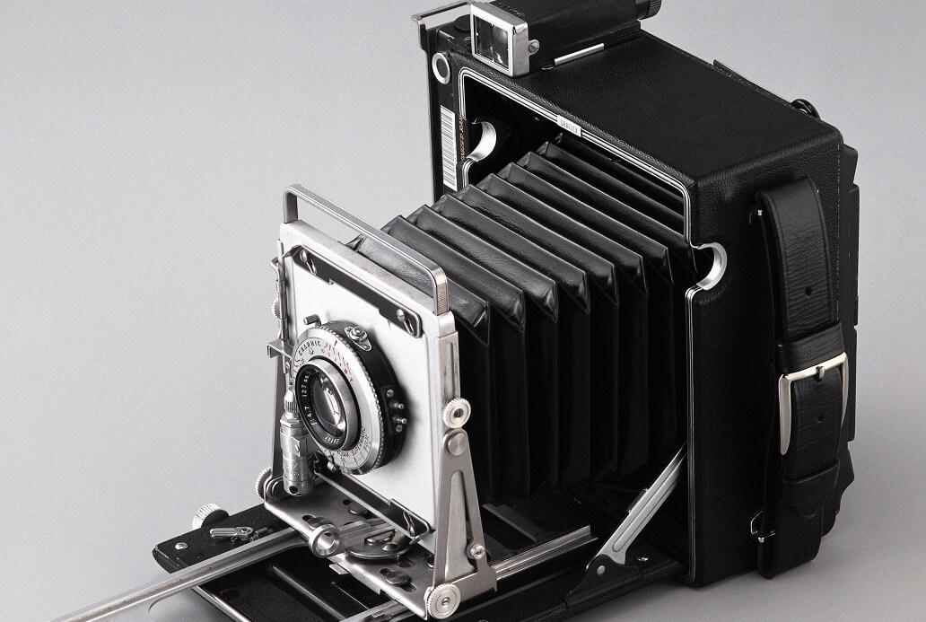 Vintage Black Folding Camera