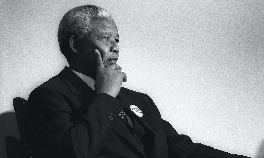 Photograph of Nelson Mandela