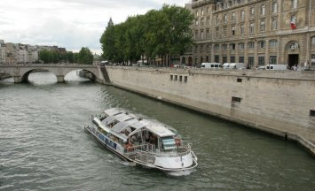 Seine, rivers, boats, cruises, Paris, France, Europe, water