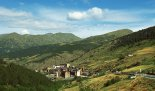 France, Europe, Pyrenees Mountains region, Andorra, villages, towns, hills, mountains