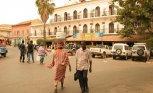 buildings, street scenes, Saint Louis, St. Louis, Senegal, Africa