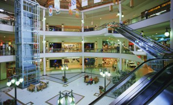 shopping malls Places Retail