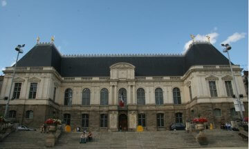Parlement de Bretagne (The Parliment of Brittany), Place Du Parlement De Bretagne, Rennes, France, Europe