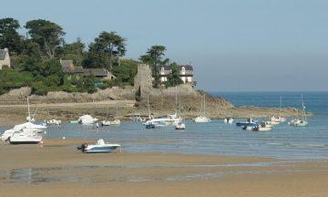 Cancale, Brittany, France, beaches, boats