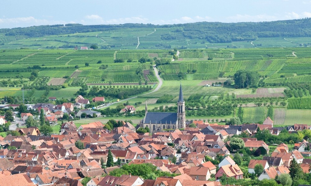 Westhoffen, Alsace, France