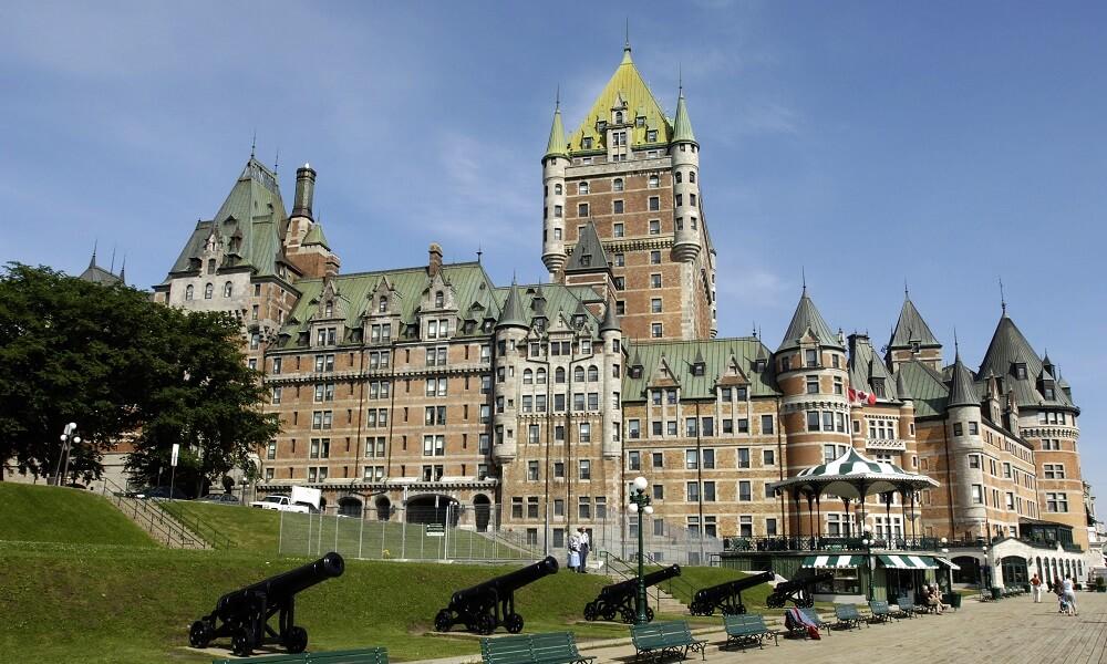 Canada, Québec, château Frontenac