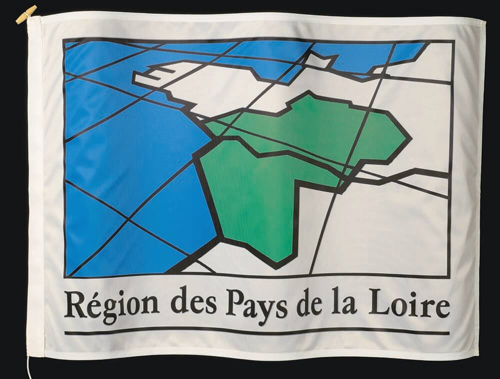 Flag of the French province of Pays De La Loire