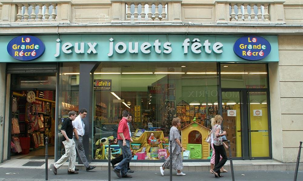 French toy store